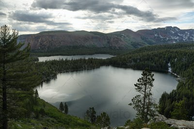 Lake George and Lake Mary in Mammoth Lakes