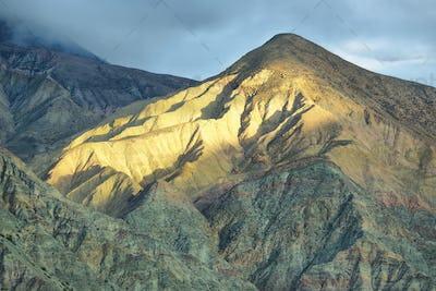 Multicolored mountain neat Purmamarca