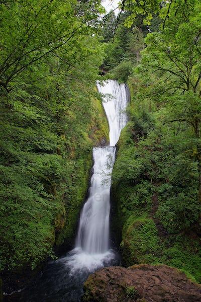 Bridalveil falls. in Columbia River Gorge