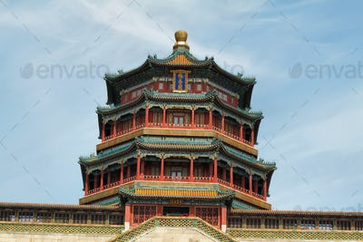 Tower of Buddhist Incense in Summer Palace