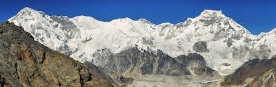 View of mount Cho Oyu from Gokyo Ri, Nepal