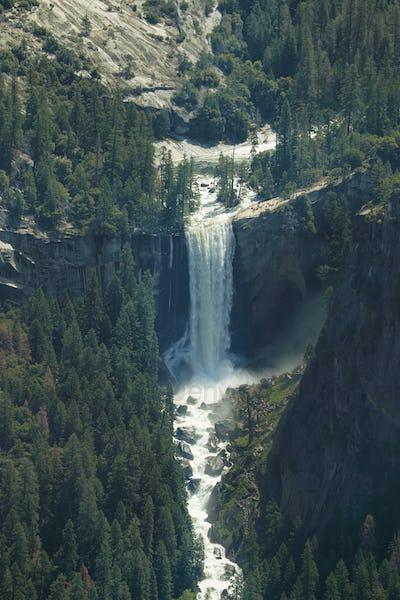 Vernal falls falls in Yosemite national Park