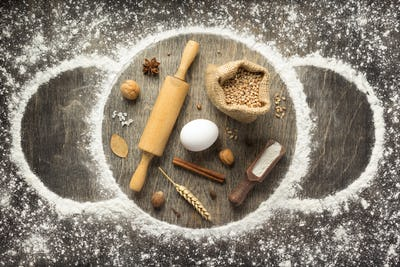 wheat flour and bakery ingredients