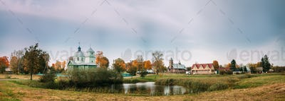 Porplishte, Dokshitsy District ,Vitsebsk Region, Belarus. Old Wo