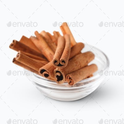 Bowl with cinnamon