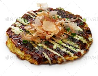 okonomiyaki, japanese savory pancake