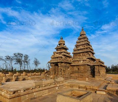 Shore temple - World  heritage site in  Mahabalipuram, Tamil N