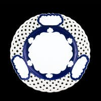 Old dinner plate