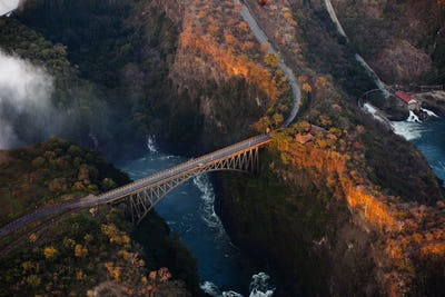 Bridge over the Zambezi River Gorge