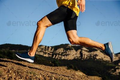 legs male runner