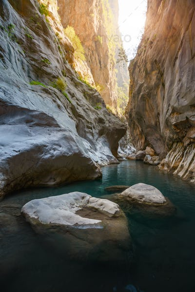 Amazing view of Goynuk canyon