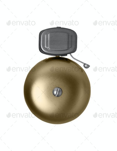 Alarm bell isolated on white