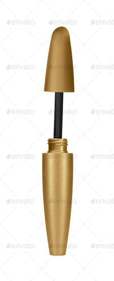 make-up tool on white background