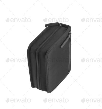 pencil-case isolated on white background