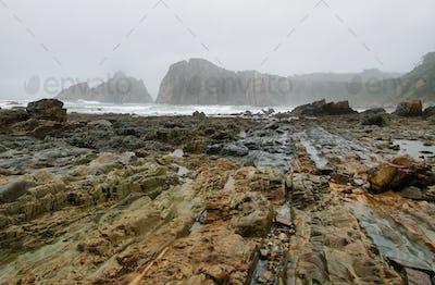 Beautiful beach of Silence