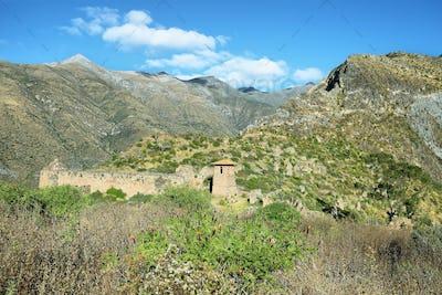 Huaquis village in Nor Yauyos Cochas, Peru