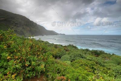 Coast in La Fajana de los franceses