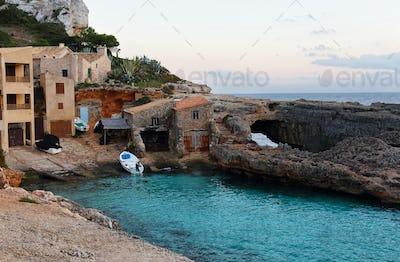 Cala s'Almunia in Mallorca island, Spain.