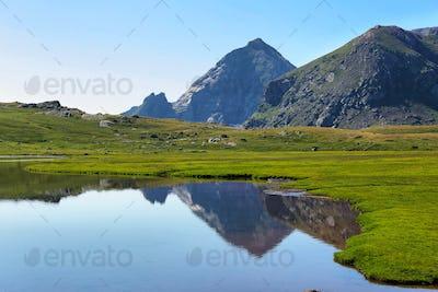 Anayet lake, Spanish Pyrenees, Aragon, Spain