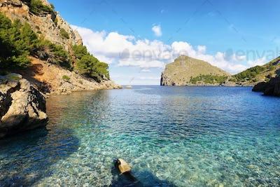 Sa Calobra beach, Majorca, Spain