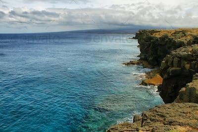 Ka lae South point in Big island, Hawaii