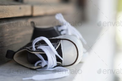 Sneakers child shoes