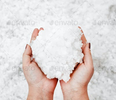 Hailstorm in the hands
