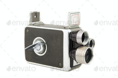 vintage amateur movie camera