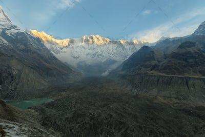 Mt Annapurna I in Nepal