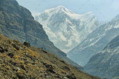 Rocky peaks in Nepal