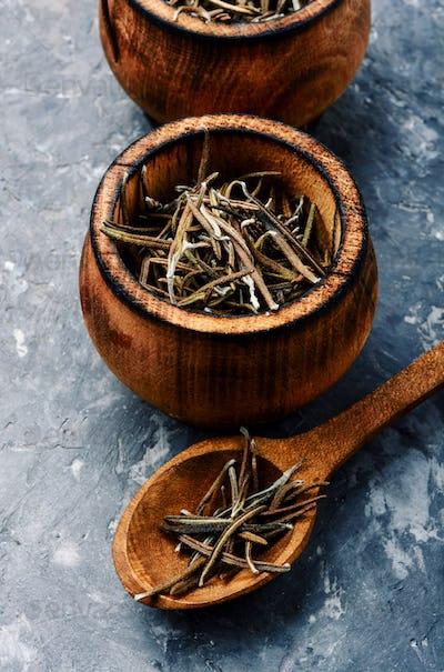 Dried herbs rosemary leaf