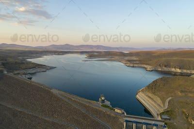 Dam Release Water