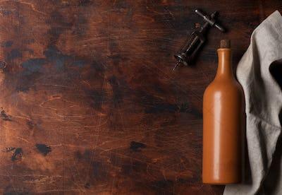 Vintage wine bottle