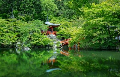 daigo-ji temple in spring