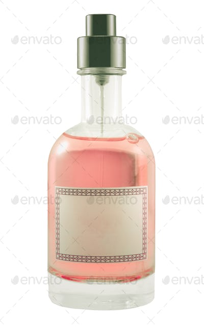 Isolated Perfume Bottle