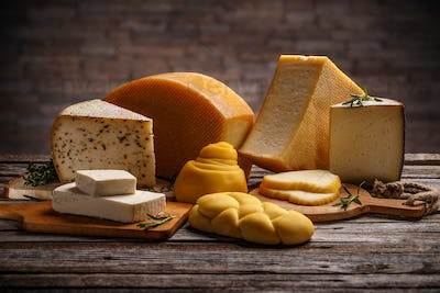 Mix cheese