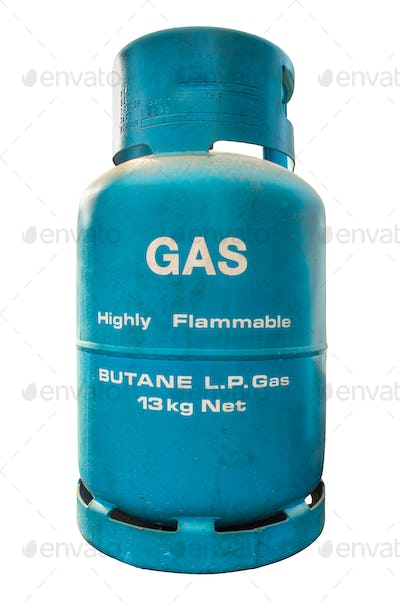 Isolated LP Gas Container