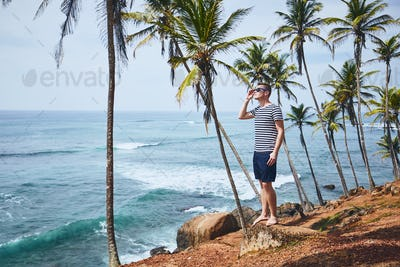 Idyllic day in tropical destination
