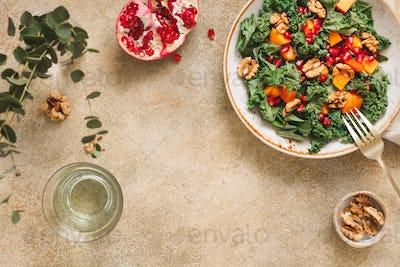 Vegan fresh salad