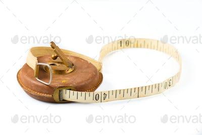 Vintage measure meter carpenter