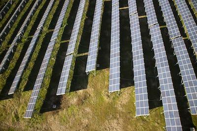 Photovoltaic panels area