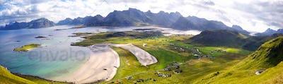 Lofoten Islands panorama