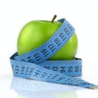 Healthy Fruit Apple and Measurement