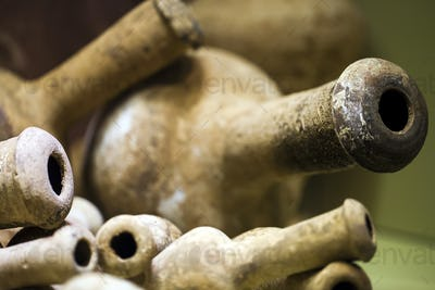 Anicent Antique Pot Historical Art Objects