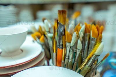 Art Object Paint Brush Equipment