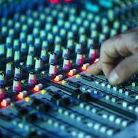 Music Equipment Etnetrainment Audio DJ Mixer