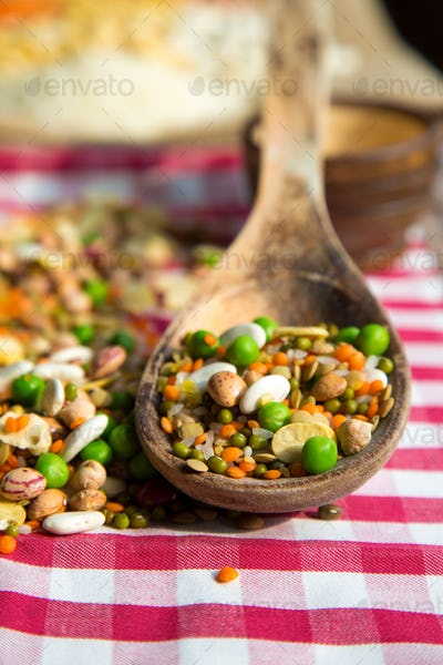 Healthy Vegetarian Raw Food Legumes