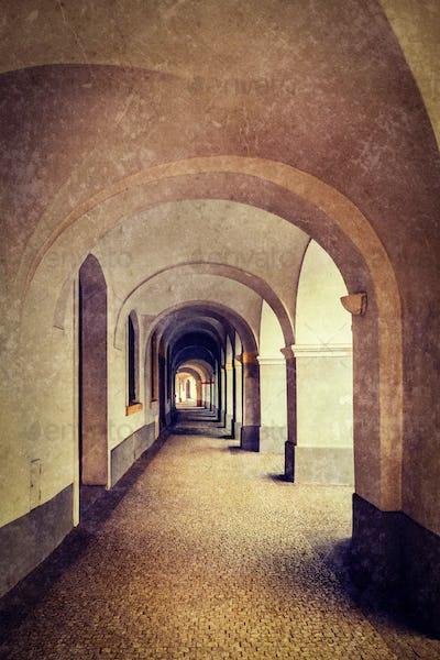 Arcade in Prague