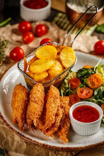 Fried Shrimps tempura
