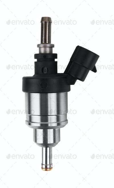 Gas injector isolated